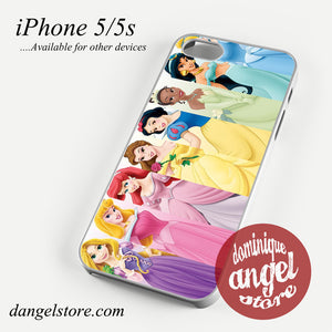 all disney princess Phone case for iPhone 4/4s/5/5c/5s/6/6 plus