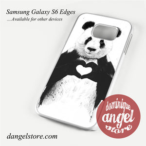 all you need is love Phone Case for Samsung Galaxy S3/S4/S5/S6/S6 Edge
