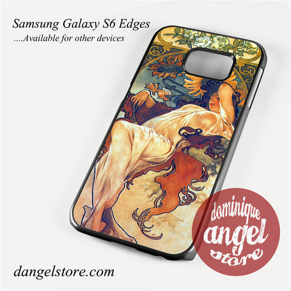 alphonse mucha 2 Phone Case for Samsung Galaxy S3/S4/S5/S6/S6 Edge