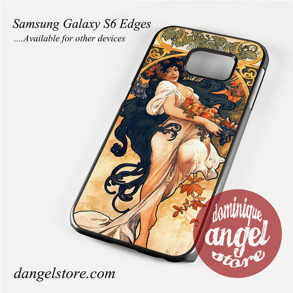alphonse mucha 3 Phone Case for Samsung Galaxy S3/S4/S5/S6/S6 Edge