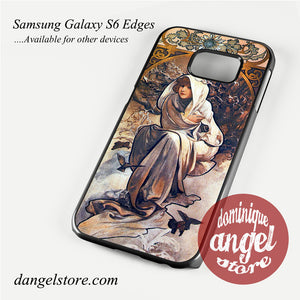 alphonse mucha 4 Phone Case for Samsung Galaxy S3/S4/S5/S6/S6 Edge
