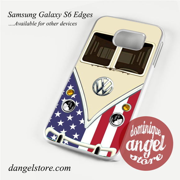 american vw retro bus Phone Case for Samsung Galaxy S3/S4/S5/S6/S6 Edge