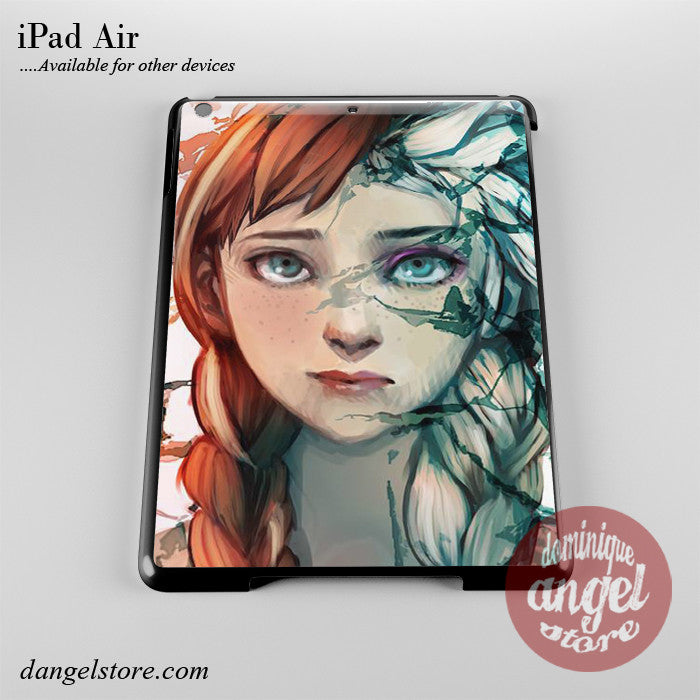 Anna And Elsa Phone Case for iPad Devices