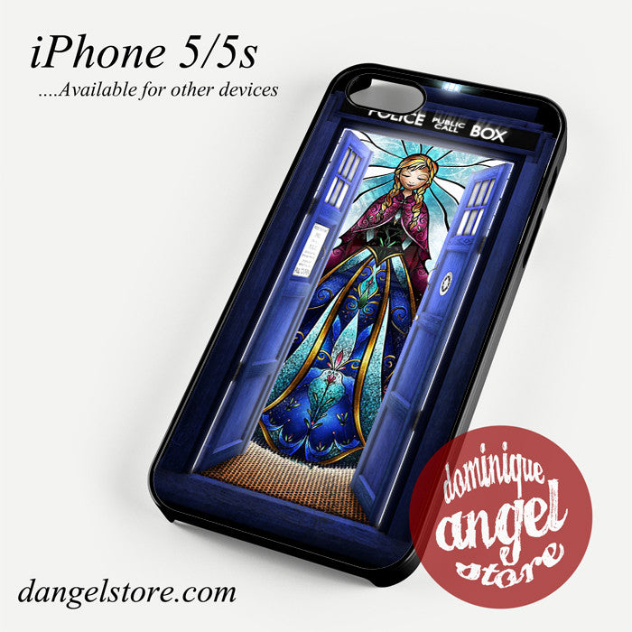 anna tardis Phone case for iPhone 4/4s/5/5c/5s/6/6 plus