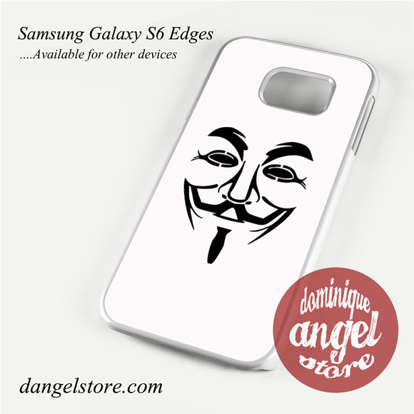 anonymous mask Phone Case for Samsung Galaxy S3/S4/S5/S6/S6 Edge