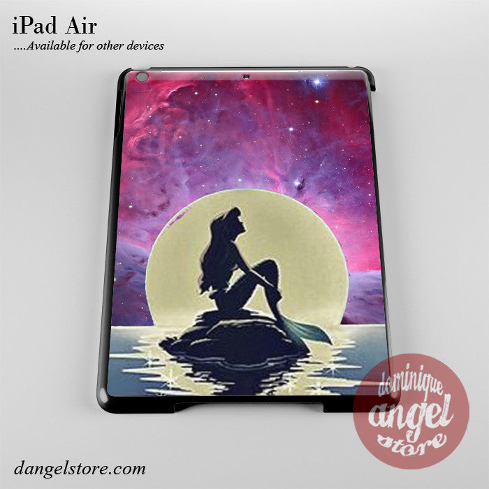 Ariel The Little Mermaid Moon Phone Case for iPad Devices