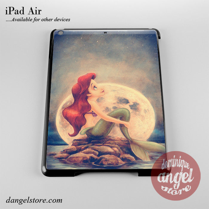 Ariel Under The Night Sky Phone Case for iPad Devices