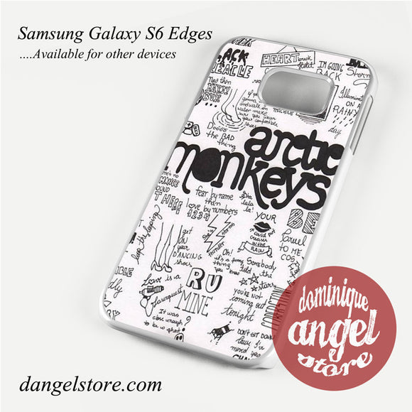 artic monkeys song Phone Case for Samsung Galaxy S3/S4/S5/S6/S6 Edge