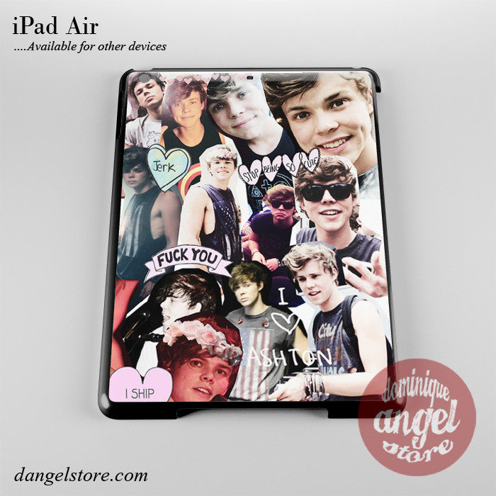 Ashton Irwin Collage Phone Case for iPad Devices