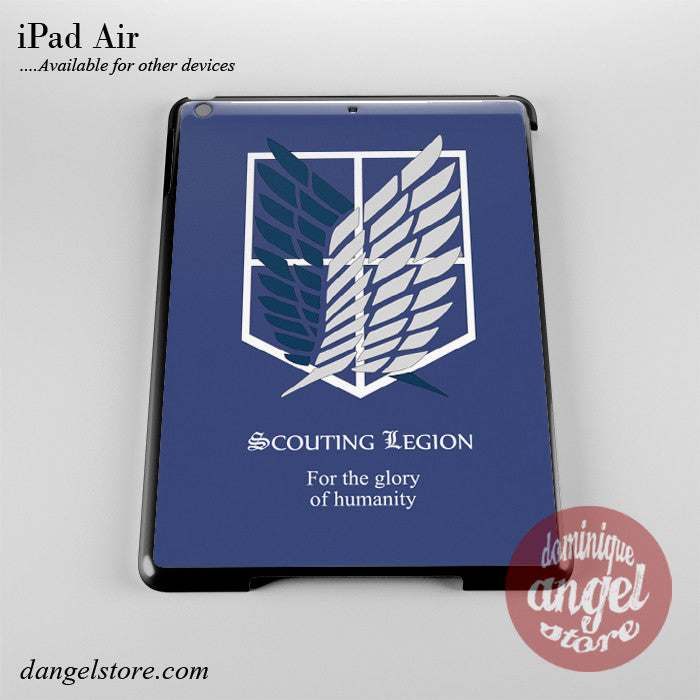 Attack On Titan Scouting Legion Phone Case for iPad Devices