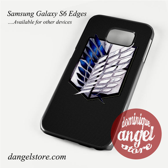 attack on titan Phone Case for Samsung Galaxy S3/S4/S5/S6/S6 Edge