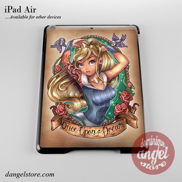 Aurora Sleeping Beauty Pin Up Phone Case for iPad Devices