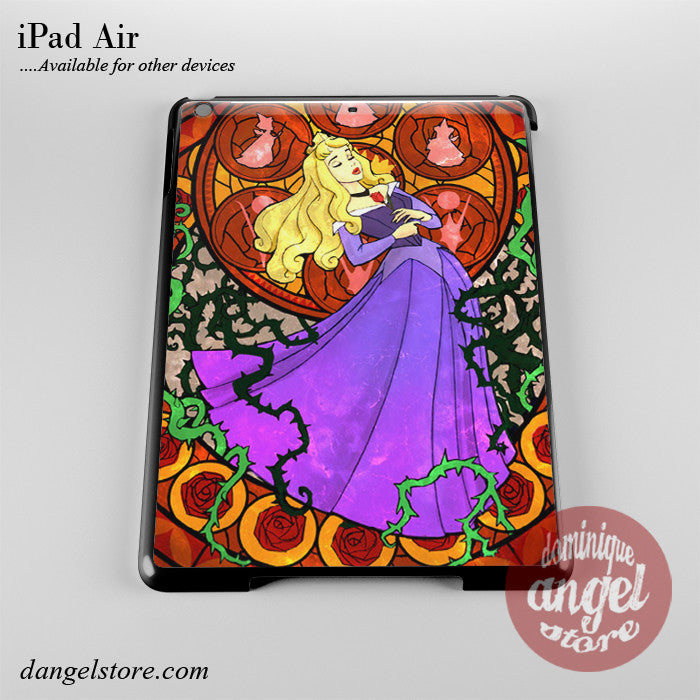 Aurora Sleeping Beauty Stained Glass Phone Case for iPad Devices