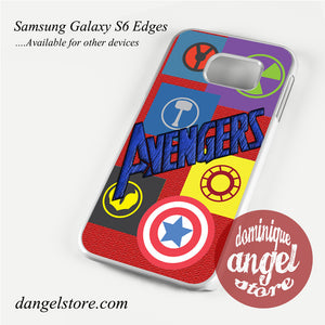 avengers college Phone Case for Samsung Galaxy S3/S4/S5/S6/S6 Edge