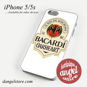 bacardi oakheart Phone case for iPhone 4/4s/5/5c/5s/6/6s/6 plus