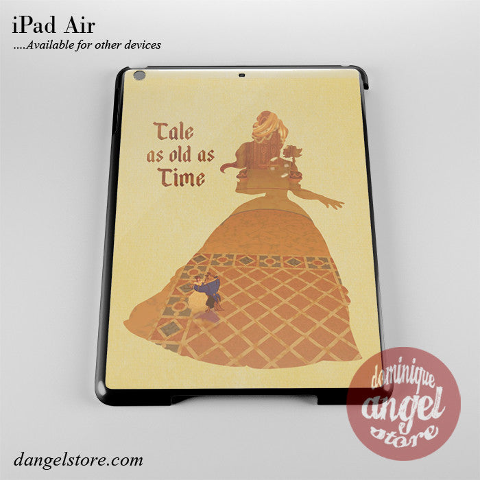 Beauty And The Beast Tale As Old As Time Phone Case for iPad Devices