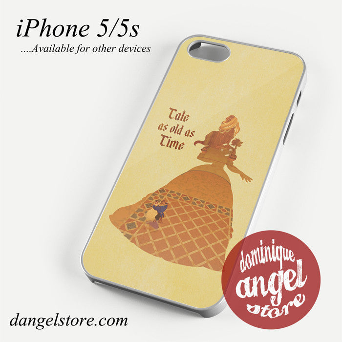 beauty and the beast tale as old as time Phone case for iPhone 4/4s/5/5c/5s/6/6 plus