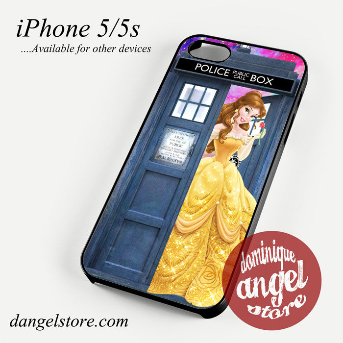 belle who tardis Phone case for iPhone 4/4s/5/5c/5s/6/6 plus