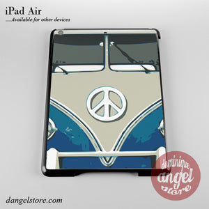 Blue Retro Bus Phone Case for iPad Devices