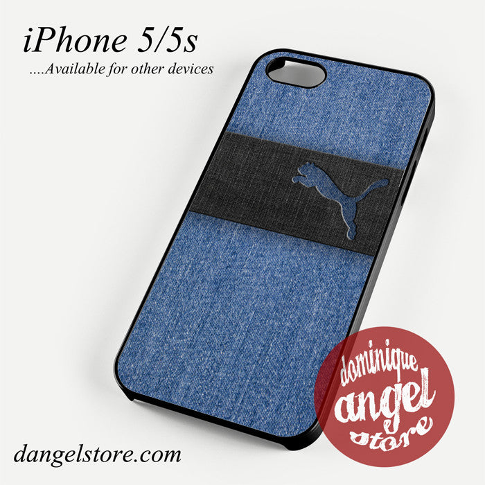 blue jeans puma Phone case for iPhone 4/4s/5/5c/5s/6/6 plus