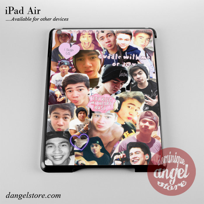 Calum Hood Collage Phone Case for iPad Devices