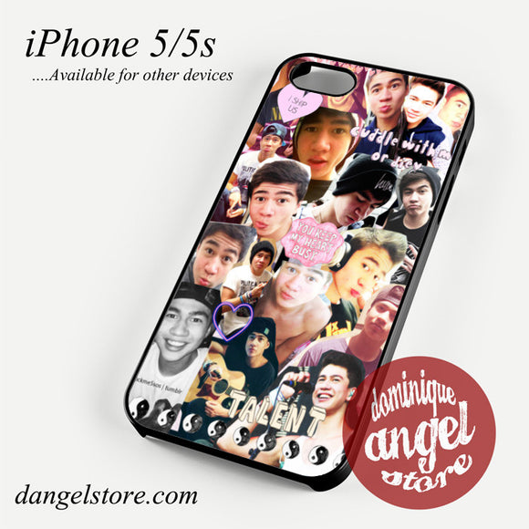 calum hood collage Phone case for iPhone 4/4s/5/5c/5s/6/6 plus