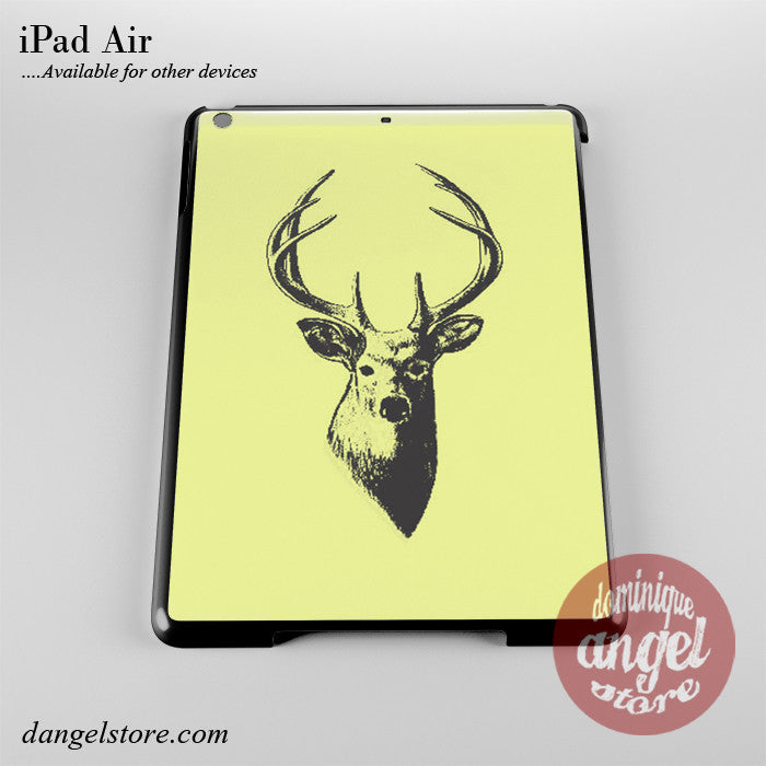 Deer Sketch Phone Case for iPad Devices