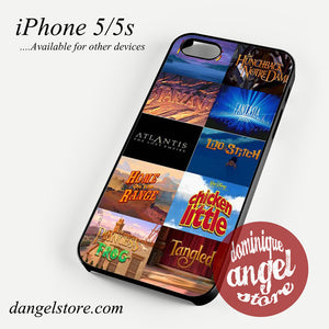 disney movies Phone case for iPhone 4/4s/5/5c/5s/6/6 plus