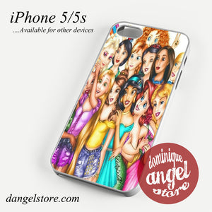 disney princesses photo Phone case for iPhone 4/4s/5/5c/5s/6/6 plus