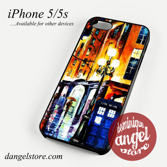 doctor who tardis painting Phone case for iPhone 4/4s/5/5c/5s/6/6 plus