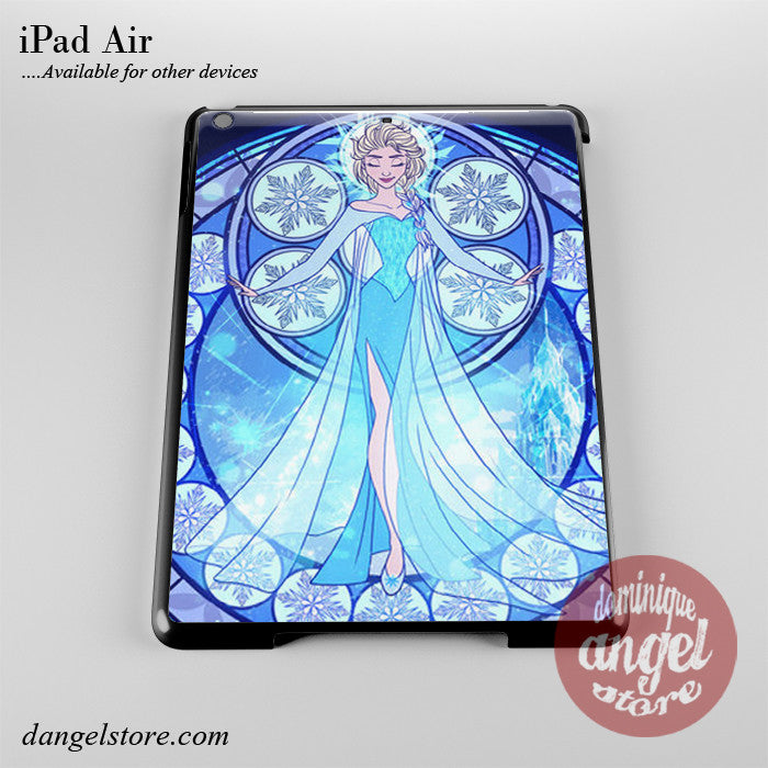 Elsa Stained Glass Phone Case for iPad Devices