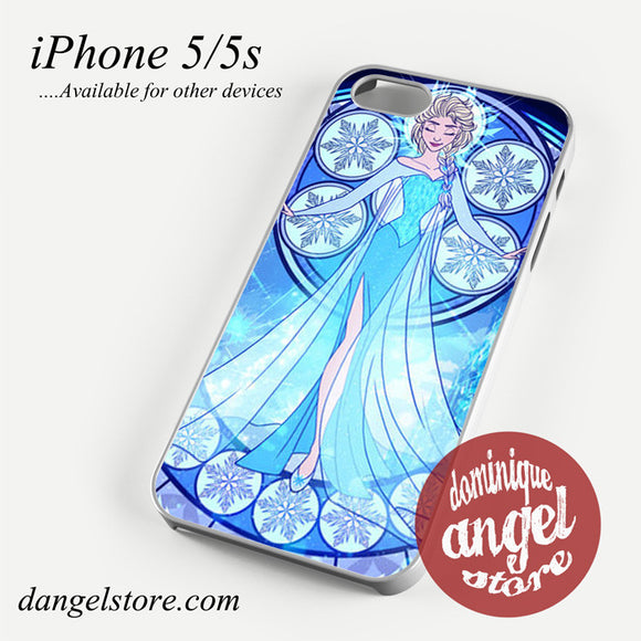 elsa stained glass Phone case for iPhone 4/4s/5/5c/5s/6/6 plus