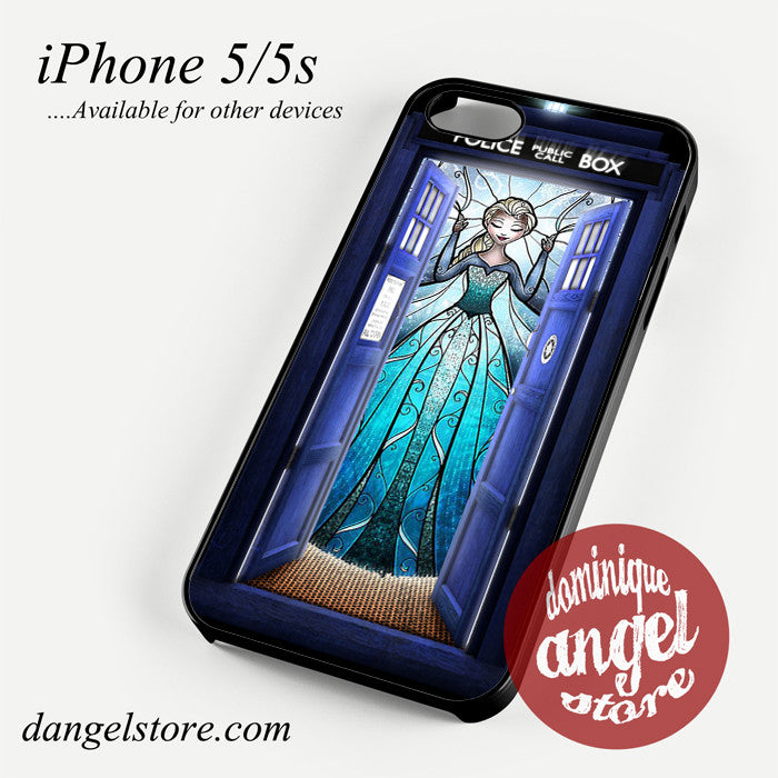 elsa tardis Phone case for iPhone 4/4s/5/5c/5s/6/6 plus