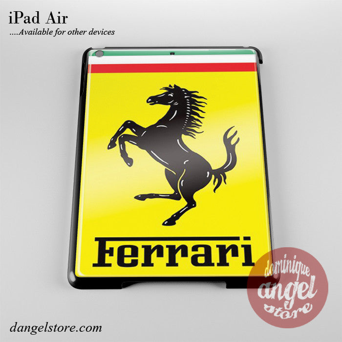 Ferrari Yellow Phone Case for iPad Devices