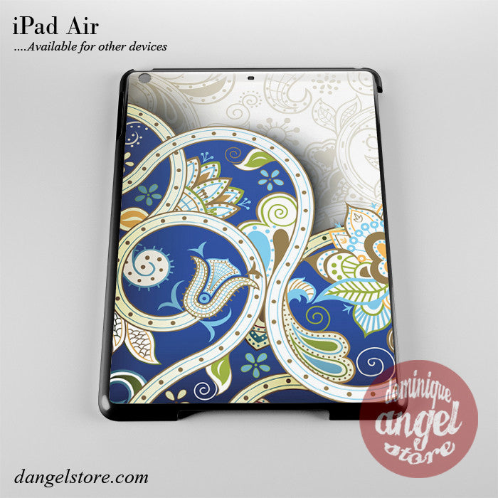Floral Batik Phone Case for iPad Devices