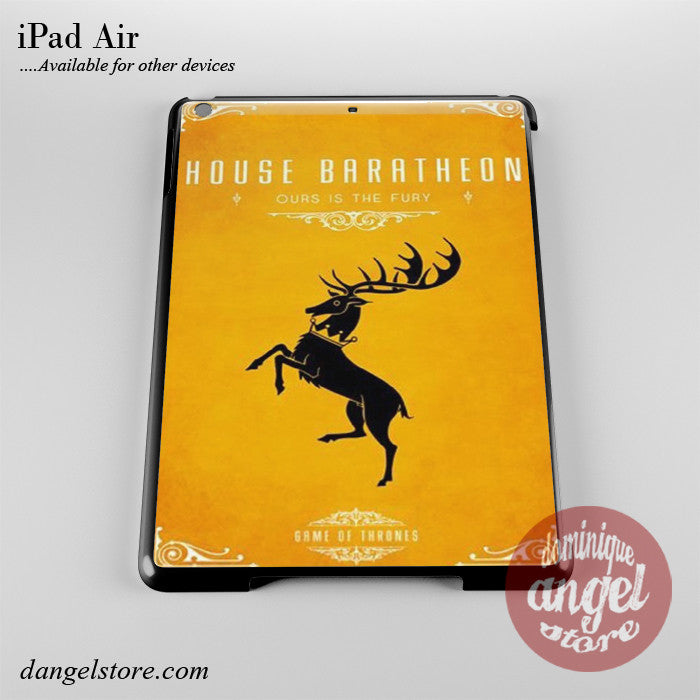 Game Of Thrones House Of Baratheon Phone Case for iPad Devices