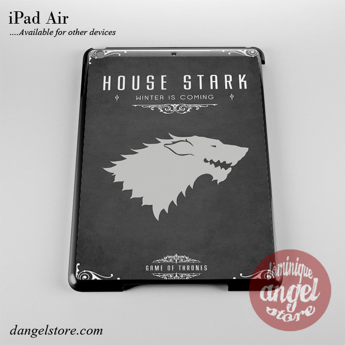 Game Of Thrones House Of Stark Phone Case for iPad Devices
