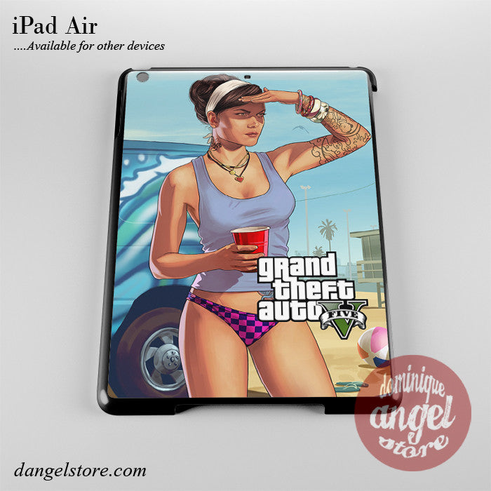 Grand Theft Auto 5 _12 Phone Case for iPad Devices