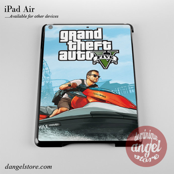 Grand Theft Auto 5 _1 Phone Case for iPad Devices