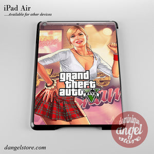 Grand Theft Auto 5 _4 Phone Case for iPad Devices