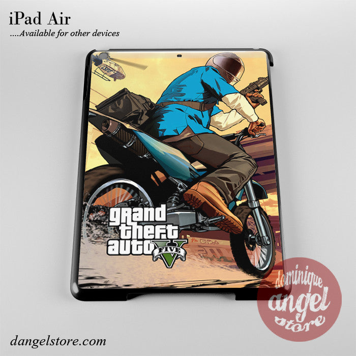 Grand Theft Auto 5 _5 Phone Case for iPad Devices