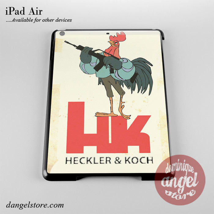Heckler And Koch Phone Case for iPad Devices