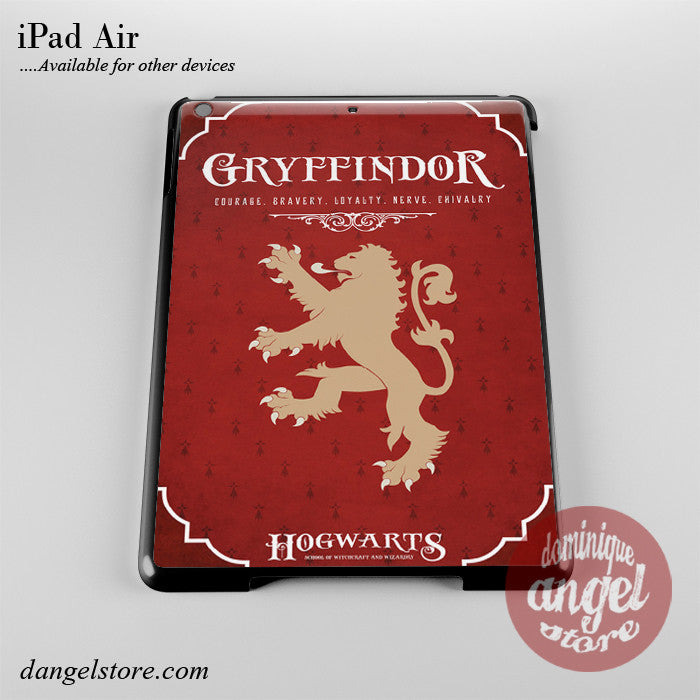 Hogwarts Gryffindor Phone Case for iPad Devices