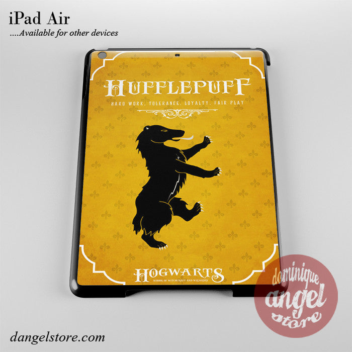 Hogwarts Hufflepuff Phone Case for iPad Devices