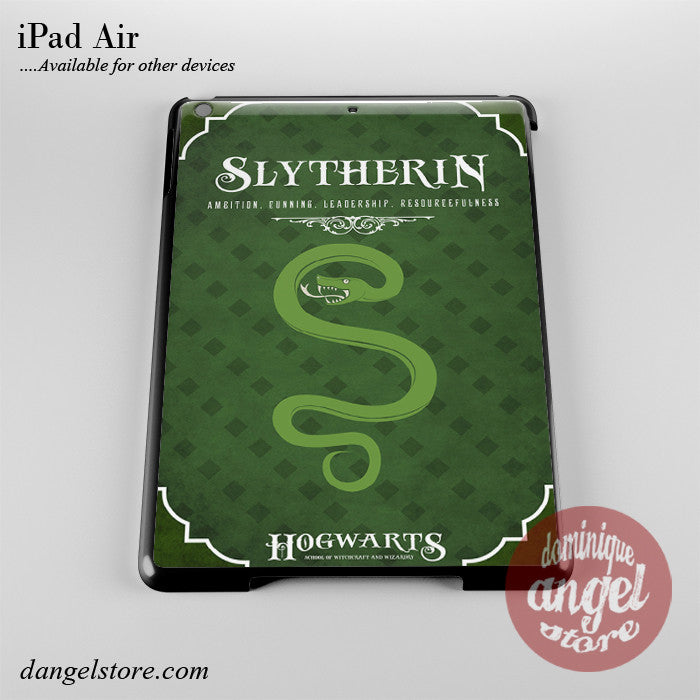 Hogwarts Slytherin Phone Case for iPad Devices