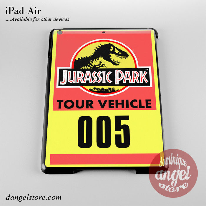 Jurassic Park Tour Vehicle Phone Case for iPad Devices
