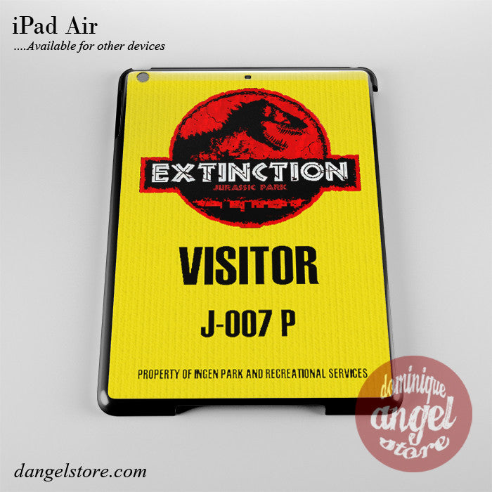 Jurassic Park Visitor Ticket Phone Case for iPad Devices