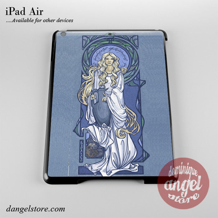 Lady Of Light Nouveau Phone Case for iPad Devices