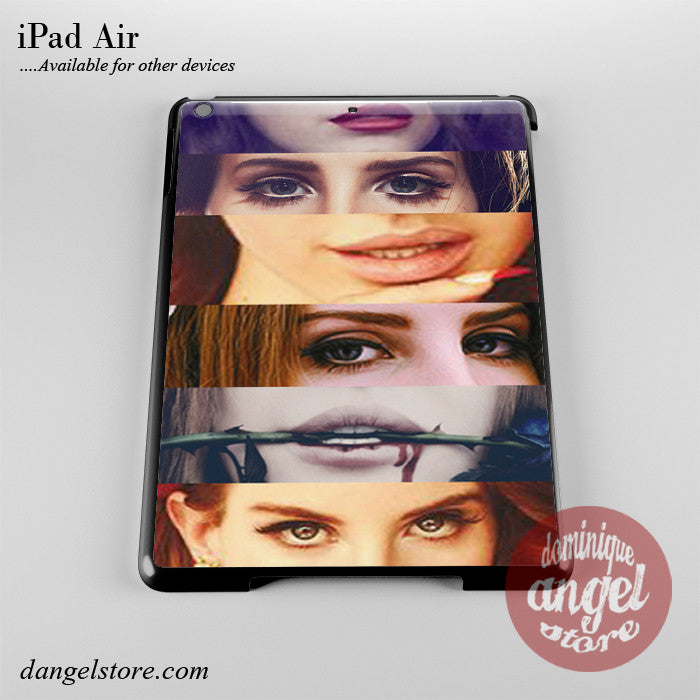 Lana Del Rey Eyes & Lips Phone Case for iPad Devices