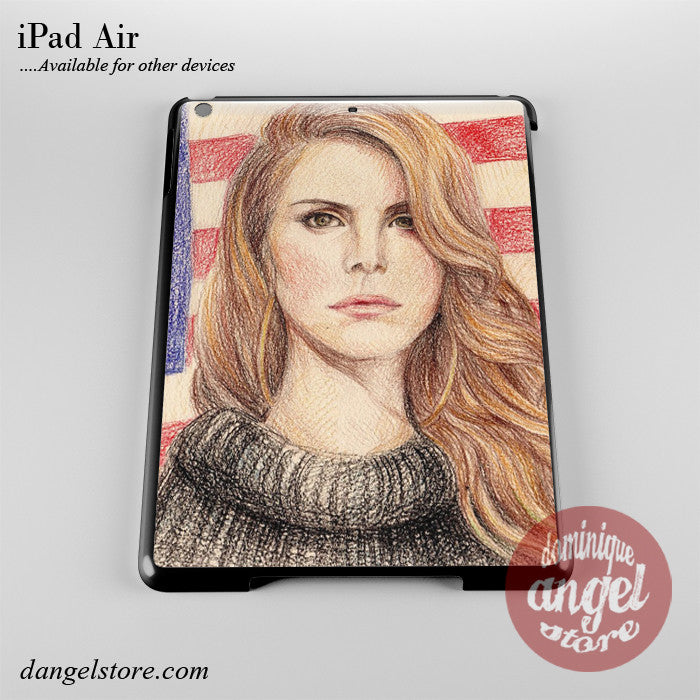 Lana Del Rey Painting Phone Case for iPad Devices